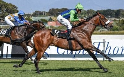 Kasimir wins Grade 2 in South Africa…